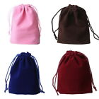 20PCs 10cmx15cm Velvet Drawstring Jewelry Gift Bags Pouches Wedding Favor