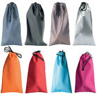 Drawstring Soft Sunglasses Optical Frame Draw String Pouch Case Various Colours