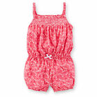 Carters Newborn 3 6 9 12 18 24 Months Cherry Romper Baby Girl Clothes Summer