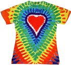 Sublimation Kylie Short Sleeve T-Shirt Multi-Color Heart Women S-2XL Polyester