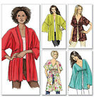Sew & Make Butterick B5224 SEWING PATTERN - Womens Easy KNIT JACKETS CARDIGANS