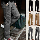 Men's Skinny Casual Solid Colors slim Straight-Leg jeans Leisure Trousers New