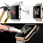 Premium 9H Real Tempered Glass Film Screen Protector For Apple Watch 38mm 42mm