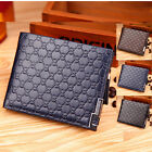 B-128 Men's wallet Stylish BIFOLD Money purse Free P&P Black ,Coffee and Blue