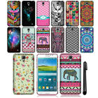 For Samsung Galaxy Mega 2 G750F Cute Design TPU SILICONE Rubber Case Cover + Pen