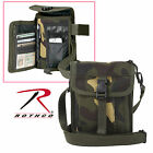 Rothco Canvas Travel Portfolio Bag - Olive Drab, Black, Khaki, Wood Camo, Brown