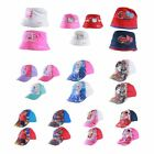 K69 GIRLS BOYS KIDS OFFICIAL DISNEY HATS & CAPS ELSA FROZEN SUPERMAN MICKEY HAT
