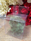 """2"""" x 2"""" x 2"""" Clear PVC Cube Favor Gift  Box - Pack of 12  US SELLER"""