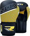 RDX Maya Hide Leather Boxing Gloves Fight Punch Bag MMA Muay Thai Grappling CA