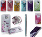 Glitter Star Liquid Back Phone Case Cover For Samsung galaxy S5 S6 edge plus S7