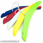 Mixed Colour Pack Childrens Wooden Hangers Baby Clothes Coat 30cm Hangerworld