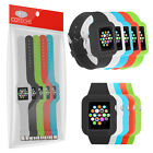 COTECHS SILICONE GEL SPORTS WRIST STRAP BAND CASE FOR APPLE WATCH 38MM 42MM