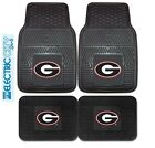 Georgia Bulldogs NCAA Car Truck Floor Mats 2 & 4 pc Sets Heavy Duty Vinyl
