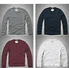 ABERCROMBIE & FITCH LONG SLEEVE TEE MENS SIZES L, XL & 2XL NEW WITH TAGS