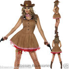 CL409 Fever Wild West Cowgirl Indian Rodeo Western Fancy Dress Cowboy Costume