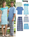 Sew & Make Simplicity 6765 New Look SEWING PATTERN - LEISURE LOUNGE SLEEP WEAR