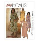 Sew & Make McCall's 2250 SEWING PATTERN - PATIO LEISURE LOUNGE DRESSES MUUMUU