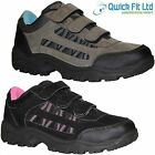 LADIES HIKING BOOTS WOMENS VELCRO TRAIL TREKKING WALKING TRAINERS SHOES SIZE 3-8