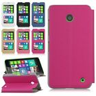 Dual View Window PU Leather Flip Slim Case Stand Cover For Nokia Lumia 630 635
