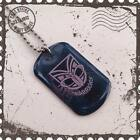HIGH QUALITY CHILDRENS OR ADULTS NRL NEW ZEALAND WARRIORS  DOG TAG
