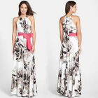 Sexy Boho Women Summer Long Maxi Evening Party Dress Beach Dresses Chiffon Dress