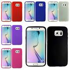 For Samsung Galaxy S6 Edge Thick Rugged TPU Candy Cover Case w/ Retail Package