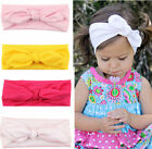 Baby Toddler Girls Kids Bow Hairband Turban Knot Rabbit Headband Headwear Wrap