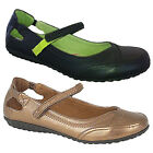 Ladies Womens Girls New Touch Velcro Fastening Fashion Leather Lined Shoes 4-8