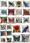 "18"" Cotton Linen Lovely Animals Sofa Home Decor Throw Pillow Case Cushion Cover"