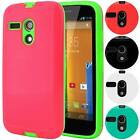 Armor Shell Hybrid Case Shockproof Slim Hard Cover For Motorola Moto G 1st Gen