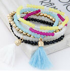 Fashion Sweet Candy Colored Tassels All-match Temperament Multilayer Bracelet