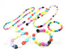 Set Collana + Bracciale WALLIS Multicolor Women's Bijoux Colori Estate Summer