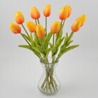 Real Touch Artificial Tulip Flower Latex Bridal Wedding Bouquet Home Decor