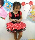 Halloween Disney Minnie Mouse Girl Pary Costume Ballet Tutu Dress 2-10Y Kids
