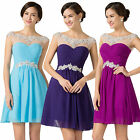 3COLORS FOR Girls Ladies Short Cocktail Prom Evening Party Homecoming Dress Gown