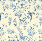 """1 CUSHION COVER in laura ashley SUMMER PALACE royal blue 12""""14""""16""""18""""20"""" 22"""" 24"""