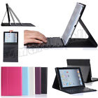 Flio Smart Stand Leather Case + Bluetooth Keyboard For Apple iPad Mini 3 2 1st