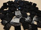 x100 NEW Lego Black Plates 4x4 Brick Building Black Baseplates