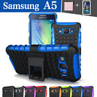 TPU Case Cover Samsung Galaxy A5 Silicone Shockproof Heavy Duty With Kickstand