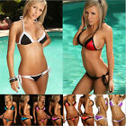 Sexy Lingerie Bikini SET Swimwear Lace Bra Trikini Beach Bathing Suit Swimsuit