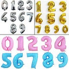 "16/40""Giant Foil Number Balloons Helium Large Baloon Wedding Birthday Party Gift"