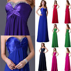 MATERNITY 1950s LONG Prom Dress Evening Party Formal Bridesmaid Wedding Ballgown