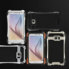 Fashion R-JUST Shockproof Metal Aluminum Case For Samsung Galaxy S6 S6 edge New