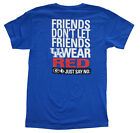 Kentucky Wildcats Friends Don't Let Friends Wear Red SS T-shirt