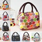New Women Outdoor Travel Lunch Bag Casual Handbag Picnic Totes Carry Box Storage