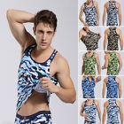 Casual Sexy Men's Camouflage Undershirt Army Military Tank Tops Vest Tee Shirt