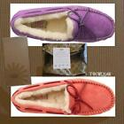UGG Dakota Womens JELLY FISH OR CORAL REEF Moccasin Slippers Sizes: 7,8,9 NEW