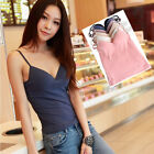 Adjustable Modal Camisole Cami Womens Strap Built In Bra Padded Bra Tank Top