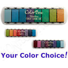 COLORBOX Paintbox FLUID CHALK inkpad set multicolor removeable ink stamp pad