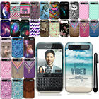 For BlackBerry Classic Cute Design TPU SILICONE Rubber Case Phone Cover + Pen